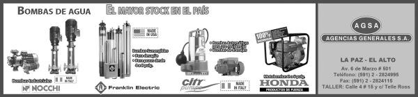 PAG3 BOMBAS DE AGUA - PIE DE PAGINA EL ALTO 26x6,10 BN