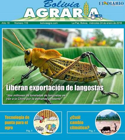 Bolivia agraria 2018