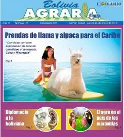 Bolivia agraria 2019